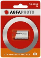 AGFA PHOTO LITHIUM PARISTO 3V CR123A