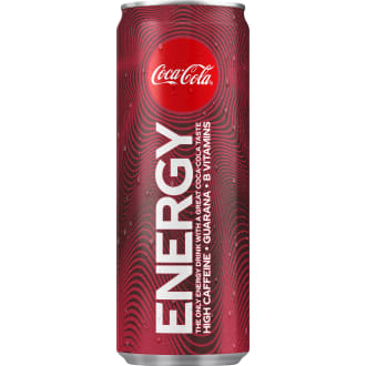 COCACOLA ENERGY DRINK 250ML