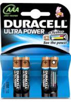 DURACELL ULTRA POWER PARISTO AAA 4 KPL