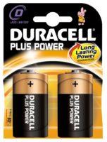 DURACELL PLUS POWER PARISTO D 2 KPL