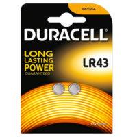 DURACELL LONG LIFE PARISTO LR43 2KPL