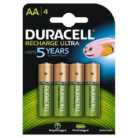 DURACELL RECHARGEABLE PARISTO 2400 MAH AA 4 KPL