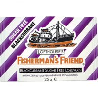 FISHERMANS FRIEND BLACKCURRANT 25G