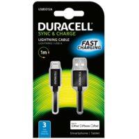DURACELL USB – LIGHTNING JOHTO  APPLE 1M