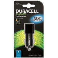 DURACELL AUTOLATURI 2 X USB 2.4A