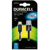 DURACELL USB – USB C JOHTO 1M