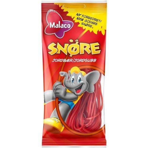 MALACO SNÖRE JORDGUBB  94G