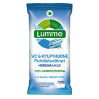 LUMME PUHDISTUSLIINAT  WC & KYLPYHUONE 60 KPL