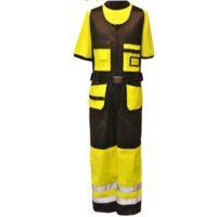 PROTECT HH930 AVOHAALARI MUSTA/KELTAINEN 52