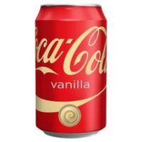 COCACOLA VANILLA USA 0,355ML
