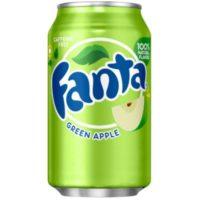 FANTA USA GREEN APPLE 0,355ML