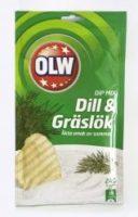 OLW DIP MIX DILL & GRÄSLÖK 24G