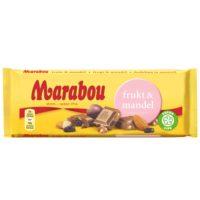 MARABOU FRUKT & MANDEL 100G