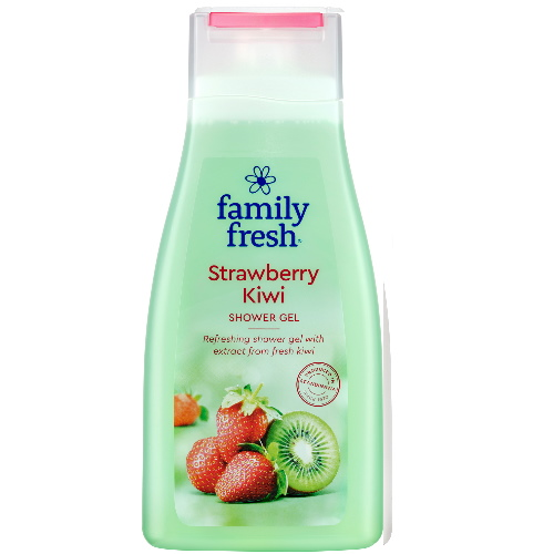 FAMILY FRESH SUIHKUGEELI STRAWBERRY KIWI 500ML