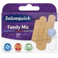 SALVEQUICK FAMILYMIX LAASTARI 26KPL