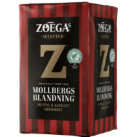 ZOEGA MOLLBERGS BLANDNING TUMMAPAAHTO SUODATIN KAHVI 450G