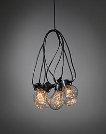 LED-valosarja hehkulamppu 5 kpl LED-valoja
