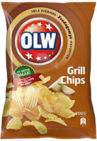 OLW CHIPS GRILL 175G