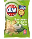 OLW CHIPS SOURCREAM & CHIVES 175G