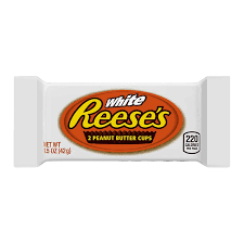 REESES WHITE PEANUT BUTTER CUPS 39G