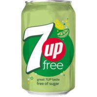 7UP FREE 0,33L