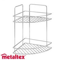 METALTEX REFLEX SUIHKUHYLLY KULMA 23X23X35CM