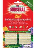 SUBSTRAL 2IN1 HYÖNTEISTORJUNTAPUIKOT 10 KPL