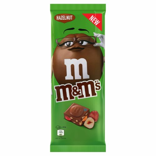 M&M'S HAZELNUT SUKLAALEVY 165G