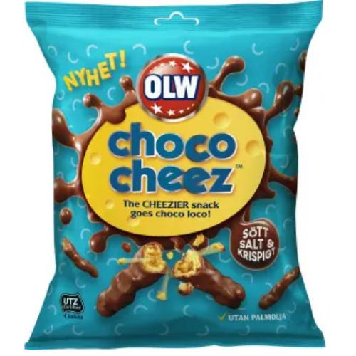 OLW CHOCO CHEEZ CRUNCHERZ 100G