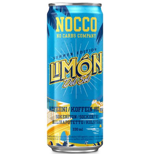 NOCCO SUMMER EDITION LIMON DEL SOL 330ML