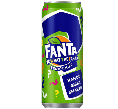 FANTA WHAT THE FANTA SOKERITON 330 ML