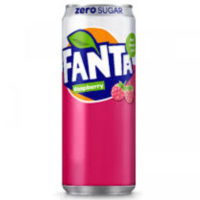 FANTA ZERO RASPERRY 330ML