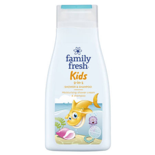 FAMILY FRESH SHAMPOO & SUIHKUGEELI KIDS 500ML